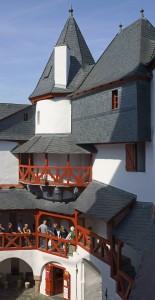 Rhein / Kaub / Pfalz im Innenhof