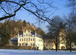 Bild 1 Schloss Sayn Außenansicht