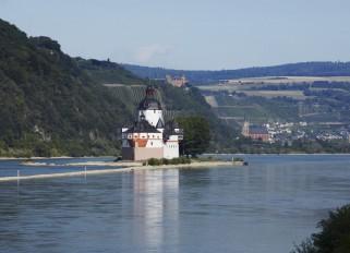 """Die """"Pfalz"""" bei Kaub - Foto: GDKE Rheinland-Pfalz ©"""