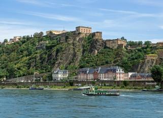 Rhein / Koblenz / Festung Ehrenbreitstein