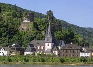 Rhein / Niederheimbach / Heimburg