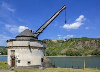 Rhein / Andernach / Alter Krahnen