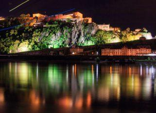Die Festung bei Nacht ©Luca Lamonte-Austin
