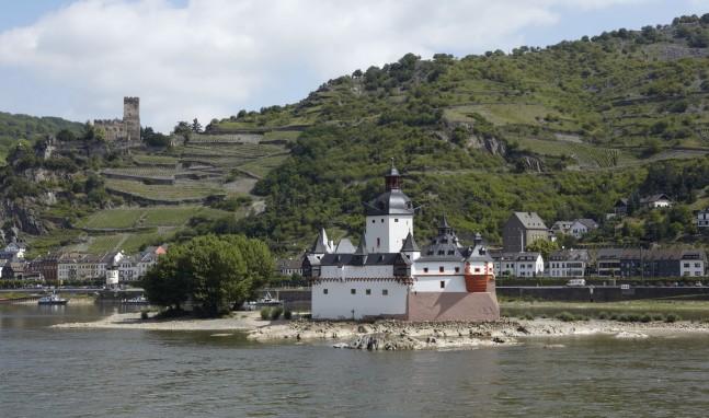 Rheinsagen II: Lovestory mit Happy End auf der Pfalzgrafenstein