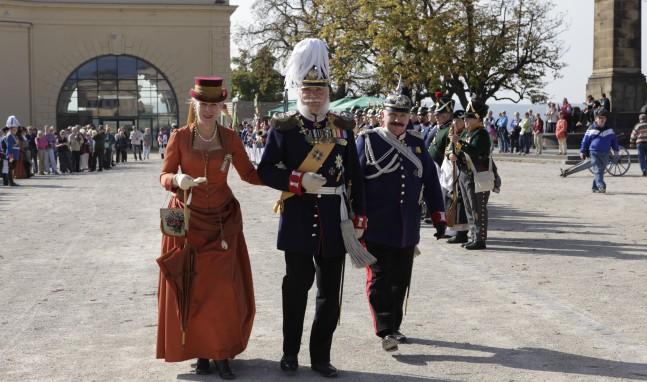 Hurra, die Preußen sind wieder da! – Preußentage auf der Festung Ehrenbreitstein
