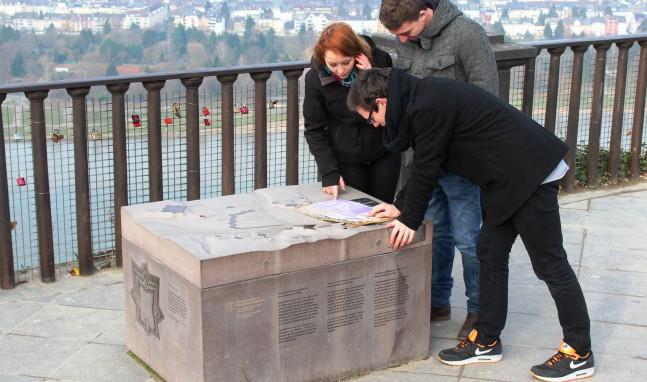 Festung Ehrenbreitstein: Jagd nach der goldenen Kanonenkugel