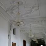 Kronleuchter in der ersten Etage