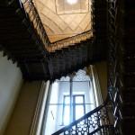 Das Treppenhaus aus Eisenkunstguss (Sayner Hütte)