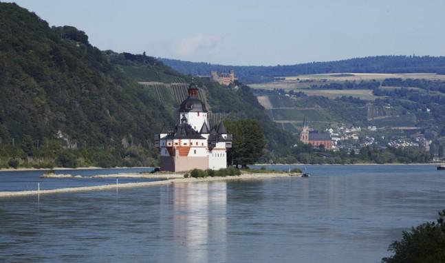 Lebte Stauferprinzessin Agnes wirklich auf Burg Pfalzgrafenstein?