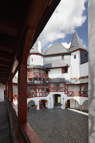 Blick in den Innenhof - Foto: GDKE Rheinland-Pfalz ©