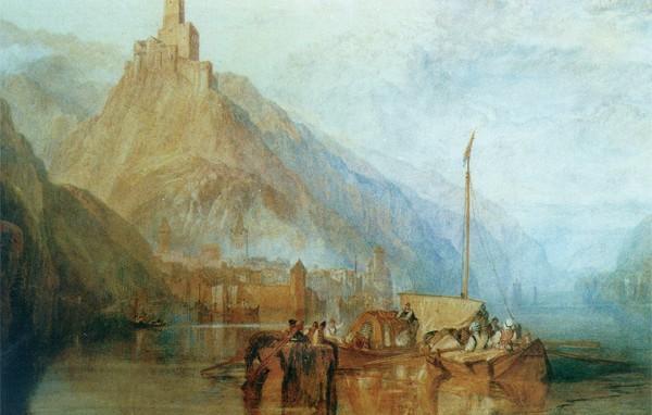 Über die Entstehung der Rheinromantik
