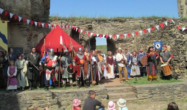 Mittelalterliches Burgfest auf Burg Rheinfels