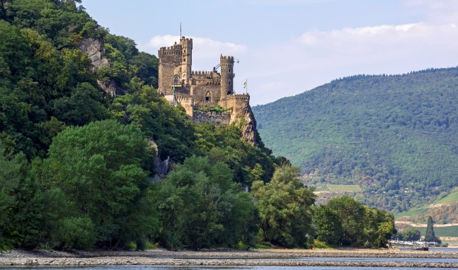 Video-Blog der Burg Rheinstein