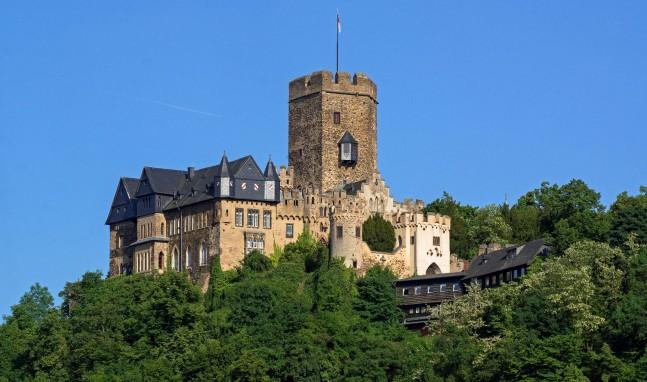 Burgen & Schlösser am Romantischen Rhein – Heute: Burg Lahneck