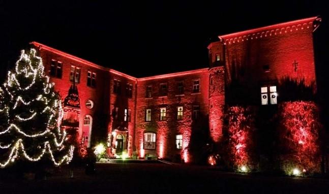 Weihnachten auf Schloss Burg Namedy