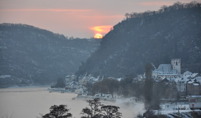 Der Rheinreisende wünscht Frohe Weihnachten!