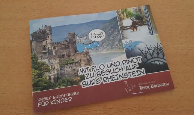 Neuer Kinderführer für Burg Rheinstein
