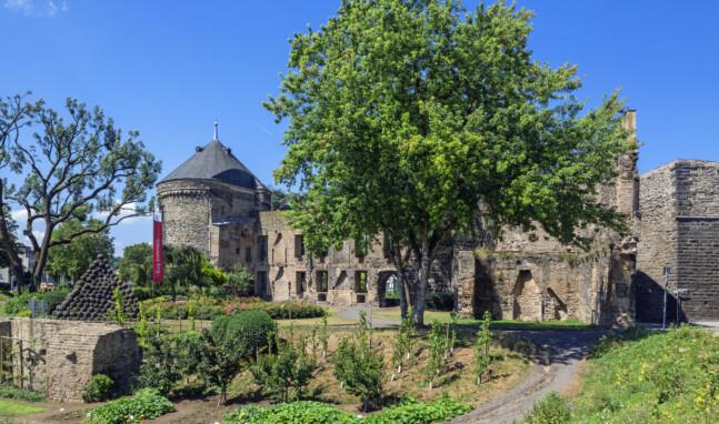 Virtuelle Tour durch die Kurfürstliche Burg Andernach