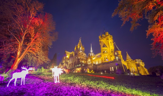 """""""Einzigartige Weihnachtszeit"""" auf Schloss Drachenburg"""