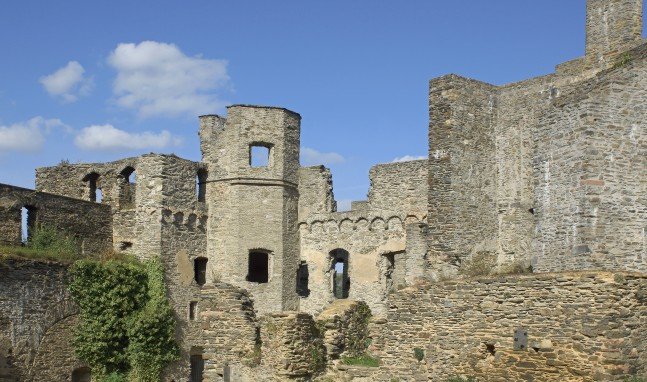Offene Burgführungen auf Burg Rheinfels