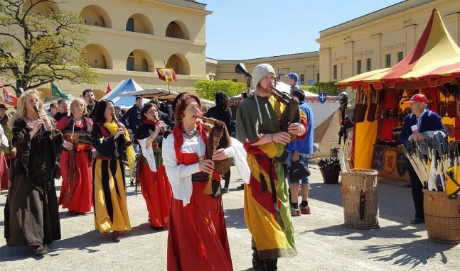 30. Mai & 01. – 02. Juni: Historienspiele auf der Festung Ehrenbreitstein