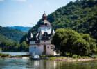 Burg Pfalzgrafenstein aus der Vogelperspektive